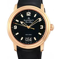Blancpain 40mm Automatic 2012 pre-owned Léman (Submodel) Black