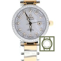 Omega LadyMatic Co-Axial 34 mm Steel/Rose Gold MOP Dial...