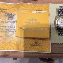 Breitling Chronomat 41 Moder Pearl White Diamond