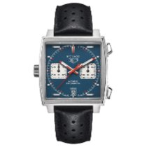 TAG Heuer Monaco Calibre 11 Steel 39mm Blue No numerals United States of America, Florida, Boca Raton