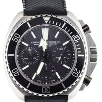 Chronographe Suisse Cie Chronograph 46mm Automatic pre-owned Black