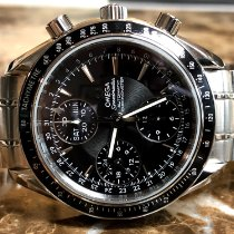 Omega Speedmaster Day Date pre-owned 40mm Black Chronograph Date Weekday Month Tachymeter Steel