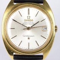 Omega Constellation Oro amarillo 34mm Sin cifras