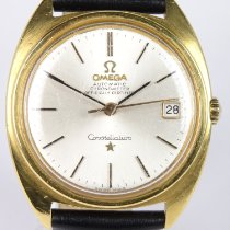 Omega Constellation Yellow gold 34mm No numerals