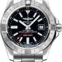 Breitling Avenger II GMT new Automatic Watch with original box