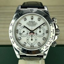 Rolex Daytona White gold 40mm Arabic numerals
