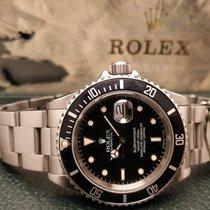 Rolex Submariner Date Acciaio 40mm Nero Senza numeri Italia, Isola della Scala