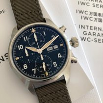 IWC Pilot Spitfire Chronograph Staal 41mm