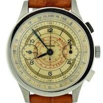 Rolex Chronograph Ατσάλι 36mm Άσπρο Αραβικοί