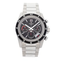 Tudor Grantour Chrono Steel 42mm Black No numerals United States of America, Pennsylvania, Bala Cynwyd