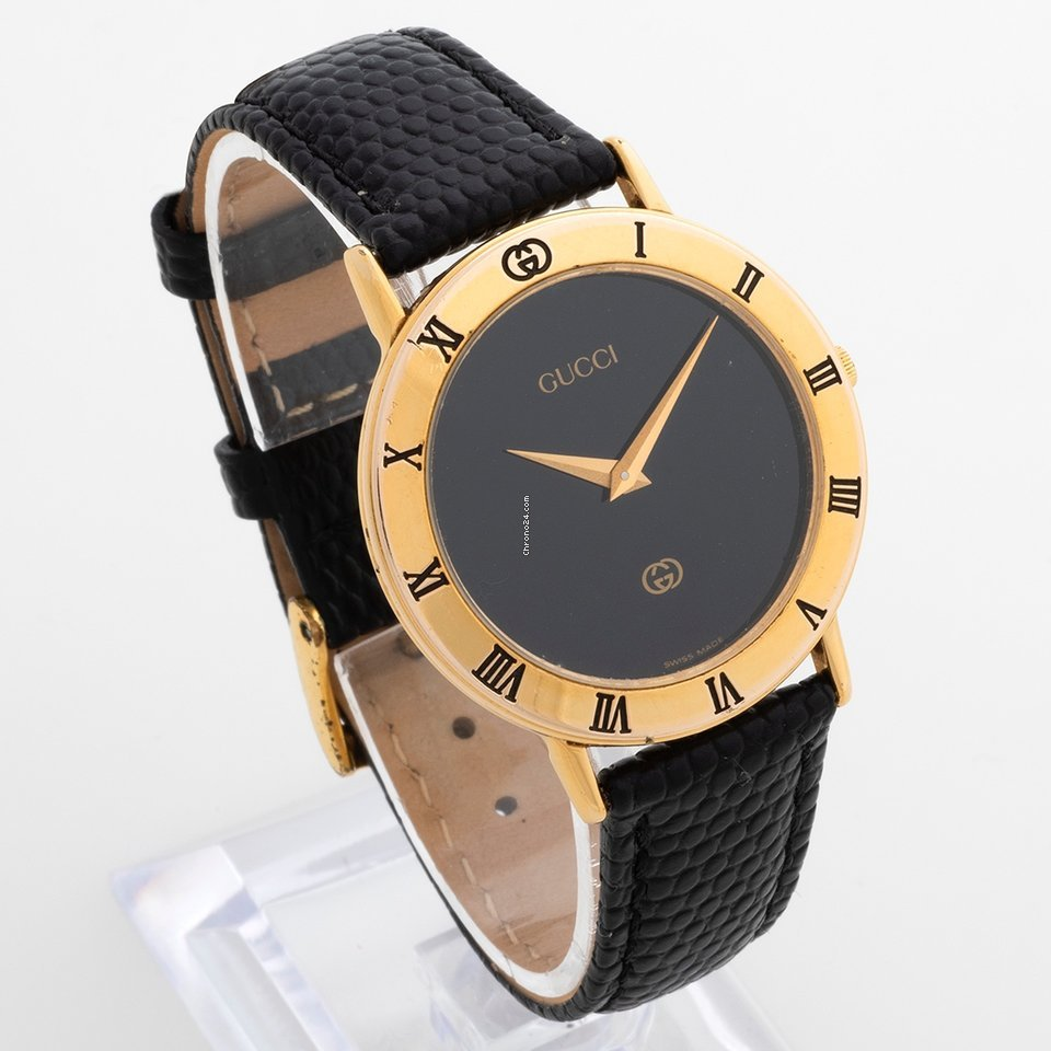 f84b7f45dfe Gucci 3000M gold plated for  325 for sale from a Trusted Seller on Chrono24
