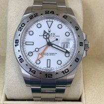 Rolex Explorer II Steel 42mm No numerals United States of America, New Jersey, Totowa