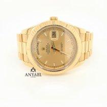 Rolex gebraucht Automatik 41mm Champagnerfarben Saphirglas 10 ATM