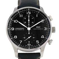 IWC Portuguese Chronograph Steel 41mm Black Arabic numerals