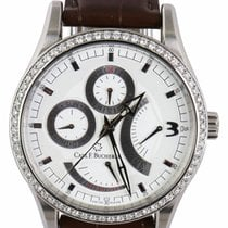 Carl F. Bucherer Steel Automatic White 40mm pre-owned Manero