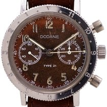 Dodane Steel 38mm Manual winding pre-owned United States of America, California, West Hollywood