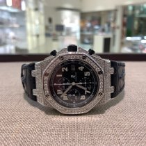 Audemars Piguet Royal Oak Offshore Chronograph Stål 42mm Sort Arabertal