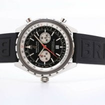 Breitling Chrono-Matic (submodel) Steel 44mm Black No numerals