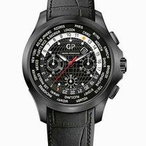 Girard Perregaux Titanium Automatic Black 44mm new Traveller