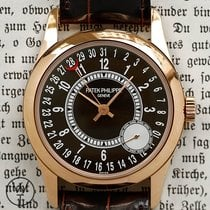 Patek Philippe Red gold Automatic pre-owned Calatrava