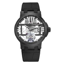 Ulysse Nardin Titanium Manual winding Black 45mm new Executive Skeleton Tourbillon