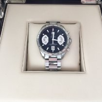 TAG Heuer CAV511A Steel 2011 Grand Carrera 43mm pre-owned