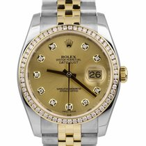 Rolex Datejust 116233 Dobré Zlato/Ocel 36mm Automatika