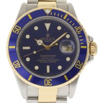 Rolex Submariner Date Acero 40mm Azul