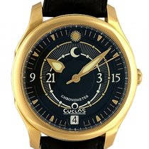 Cyclos Watch Day&Night Parity 18kt Gelbgold Automatik 39mm