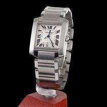 Cartier Tank Francaise Steel Automatic Men Size
