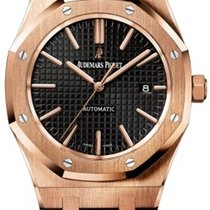 Audemars Piguet 15400OR.OO.D002CR.01 Rose gold Royal Oak Selfwinding 41mm new United States of America, Pennsylvania, Holland