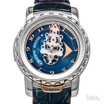 Ulysse Nardin Freak 28'800 18k White Gold Watch 020-88 Manual...