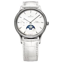Zenith Elite Ultra Thin Steel 33mm Mother of pearl United States of America, Pennsylvania, Holland