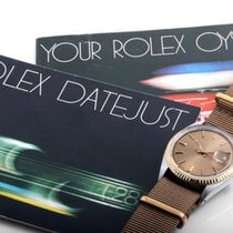 Rolex Vintage 1601 TT Datejust Polar Dial - Original Box &...