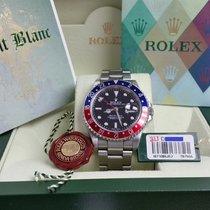 Rolex GMT-Master II Pepsi 16710 D BLRO Full Set