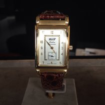 Tissot Yellow gold Manual winding Champagne No numerals 43mm new Heritage