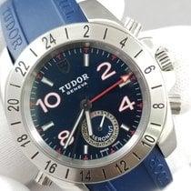 Tudor Sport Aeronaut Steel 40 x 44mm Blue Arabic numerals