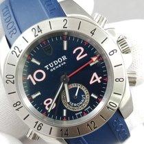 Tudor Sport Aeronaut Stahl 40 x 44mm Blau Arabisch