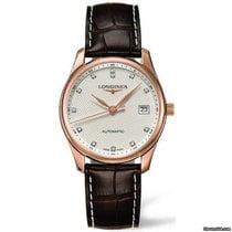 Longines Rotgold Automatik 36mm neu Master Collection