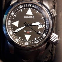 Eberhard & Co. Scafo Steel 44mm Black