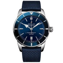 Breitling Superocean Héritage II 46 Steel 46,00mm Blue No numerals United Kingdom, or EU warehouse (see description)