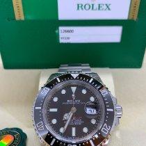 Rolex Sea-Dweller Acél 43mm Fekete Számjegyek nélkül