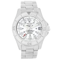 Breitling Superocean II 36 Steel 36mm White Arabic numerals United States of America, Georgia, Atlanta