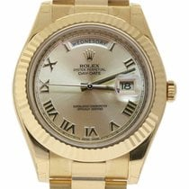 Rolex Day-Date II Yellow gold 41mm Champagne Roman numerals United States of America, Florida, 33132
