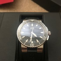 Oris pre-owned Automatic 43mm Black Sapphire Glass 30 ATM