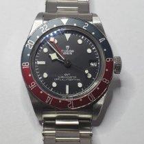 Tudor Black Bay GMT Steel 41mm Black No numerals Canada, WOODBRIDGE