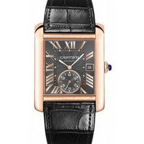 Cartier Tank MC Rose gold 44mm Grey Roman numerals