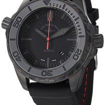 Zeno-Watch Basel Acero Cuarzo 6603Q-BK-A1 nuevo