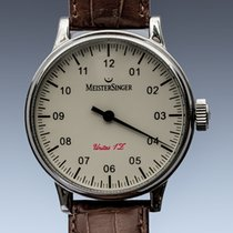 Meistersinger Acero 44mm Cuerda manual AM6603 usados