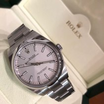 Rolex Oyster Perpetual 39 Steel 39mm White No numerals